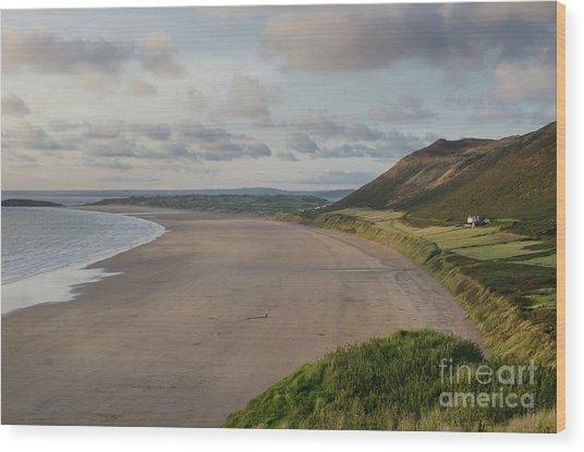 Rhossili Bay, South Wales Wood Print
