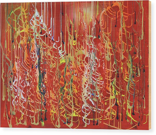 Rib Cage Wood Print