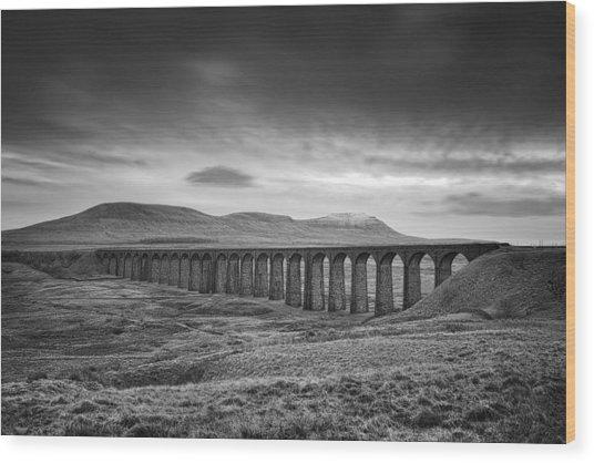 Ribblehead Viaduct Uk Wood Print