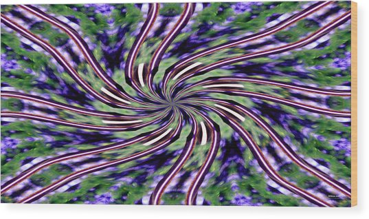 Ribbons 2925 Wood Print