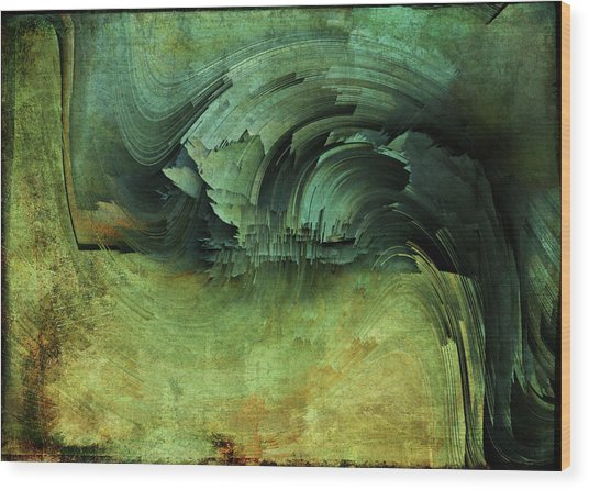 Ride Wood Print