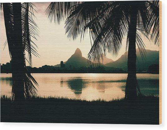 Rio De Janeiro, Brazil Landscape Wood Print