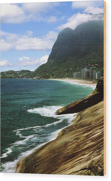 Rio De Janeiro Brazil Wood Print by Utah Images