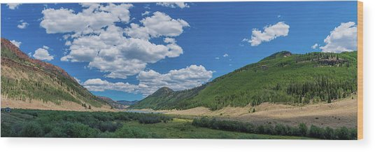 Rio Grande Headwaters #3 Wood Print