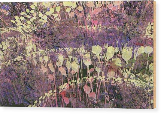 Riotous Spring Wood Print by Thomas Smith