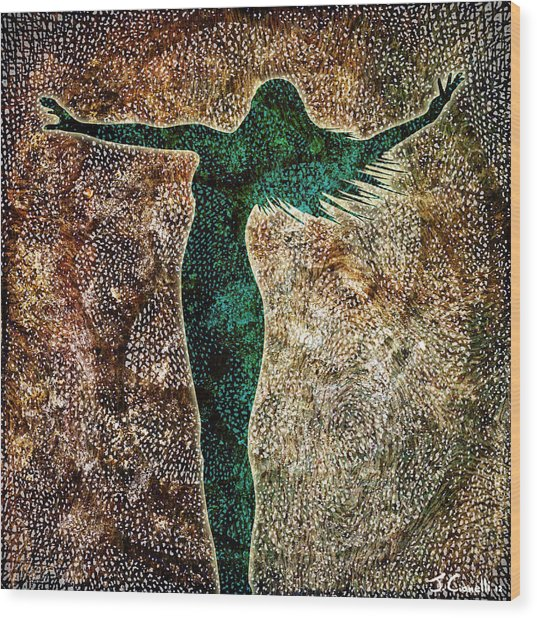 Rise Of The Divine Feminine Wood Print