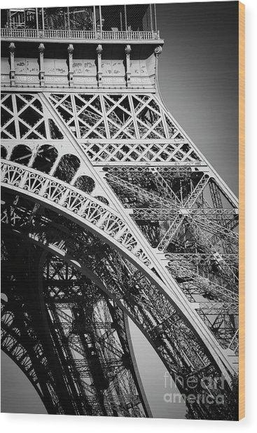 Rising Steel Wood Print