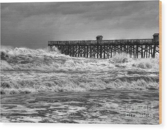 Rising Tide Wood Print by Rick Mann