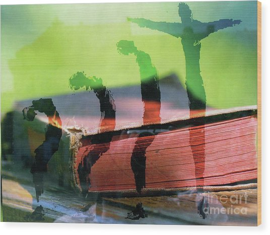 Risingform Wood Print