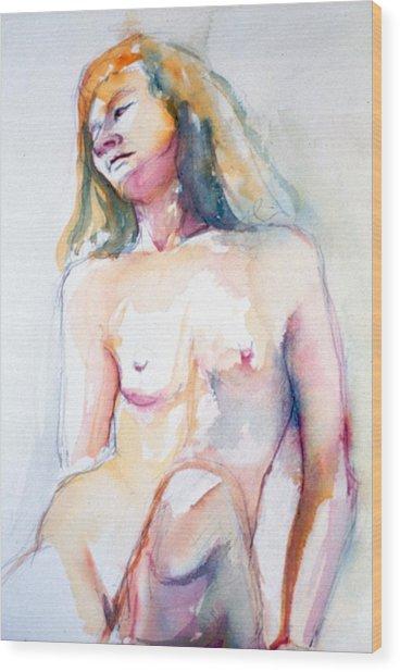 Rita #7 Wood Print