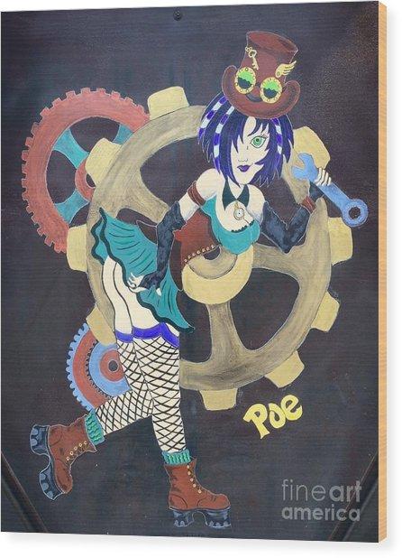 Rita Wood Print