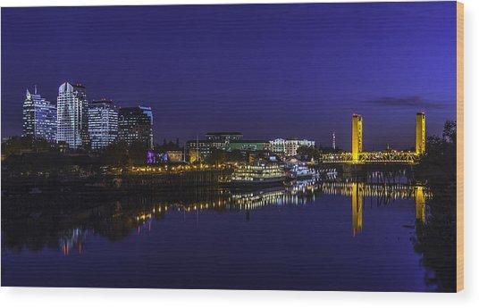 River City Blues Wood Print