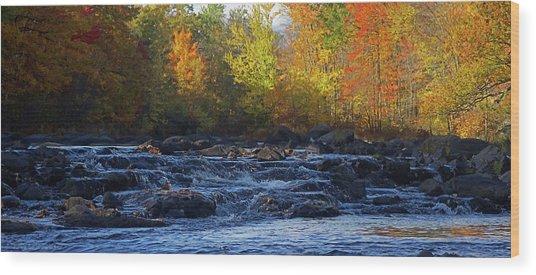River Wood Print