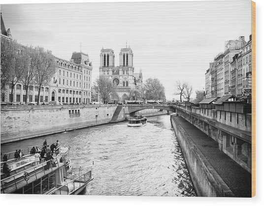 River Seine, Paris Wood Print
