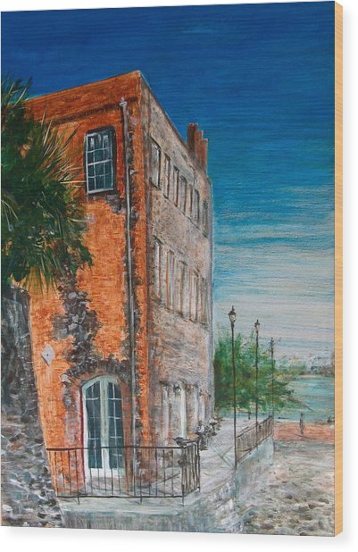 River Street Wood Print by Pete Maier