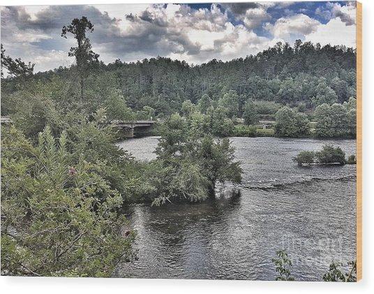 River Wonders Wood Print