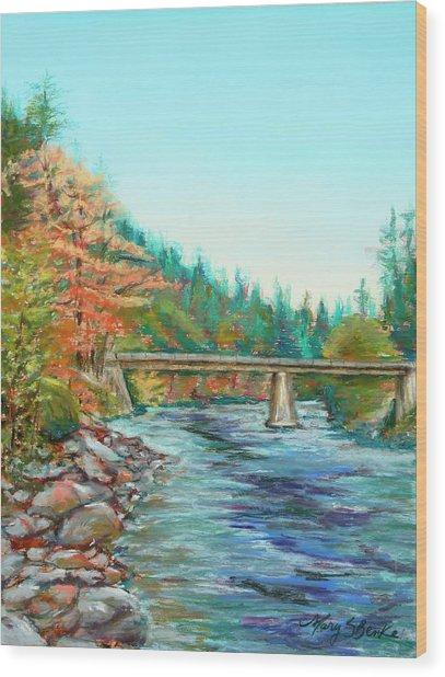 Riverdance Wood Print