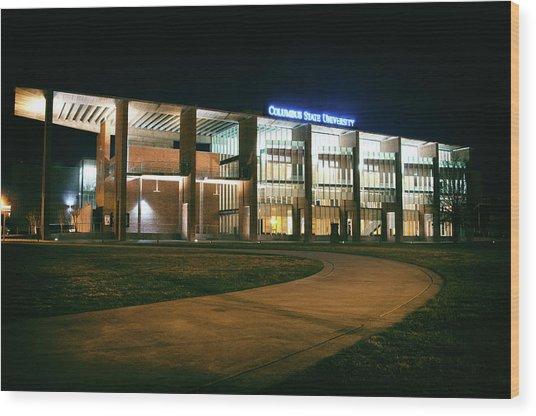 Riverside Theatre Complex Wood Print