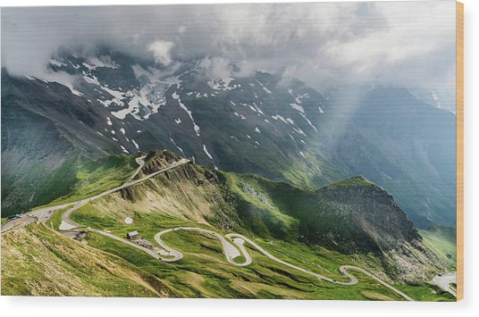 Road Austria Wood Print