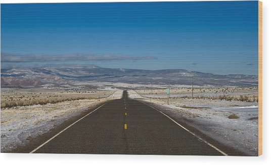 Road Nm 96 Wood Print