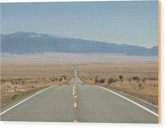 Road Nm Wood Print