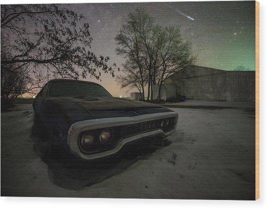 Road Runner  Wood Print