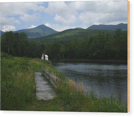 Road To Nowhere Wood Print by John Prestipino