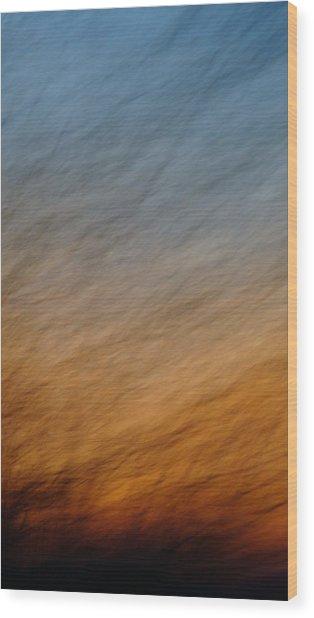 Roar Wood Print by Melody Dawn Germain