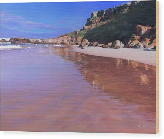 Robberg Complements Wood Print