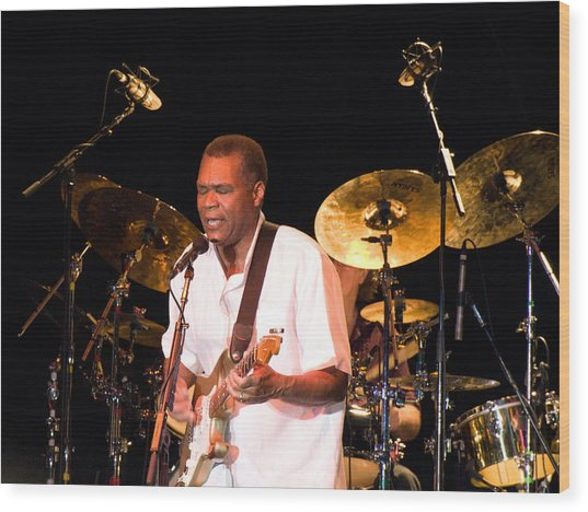 Robert Cray Wood Print