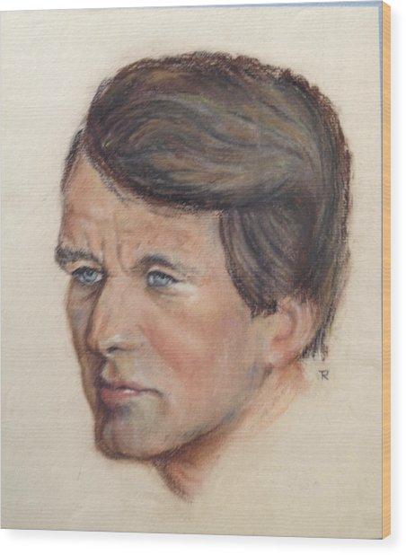 Robert Kennedy Wood Print