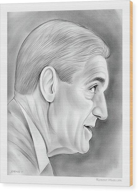 Robert Mueller Wood Print