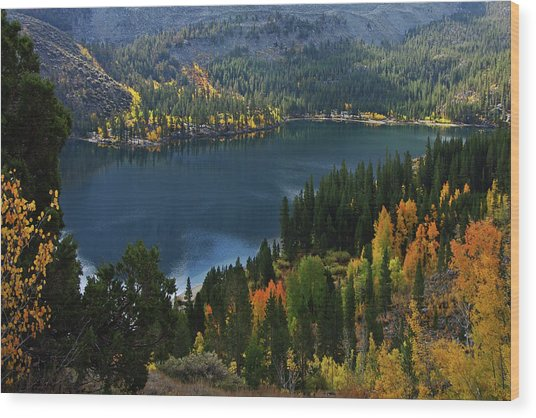 Rock Creek Lake Eastern Sierra Wood Print