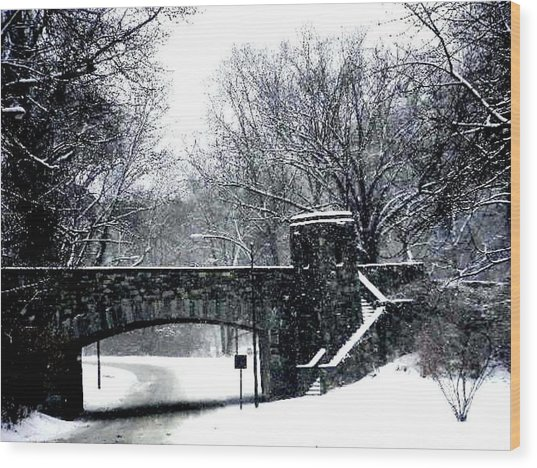 Rock Creek Parkway Washington Dc Wood Print by Fareeha Khawaja