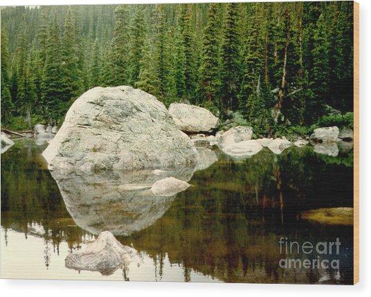 Rock Family Wood Print