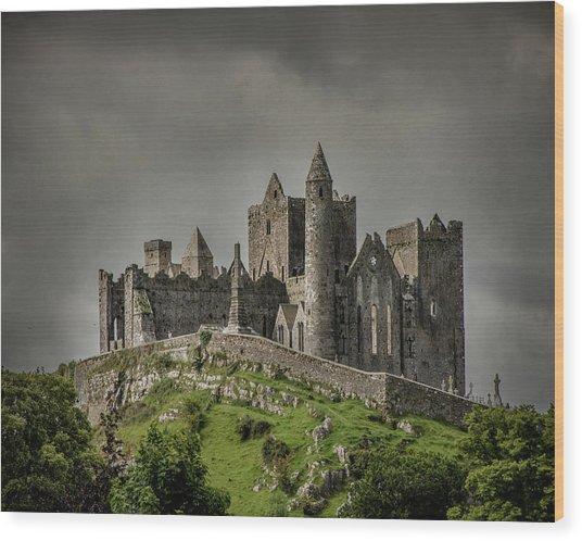 Rock Of Cashel Wood Print