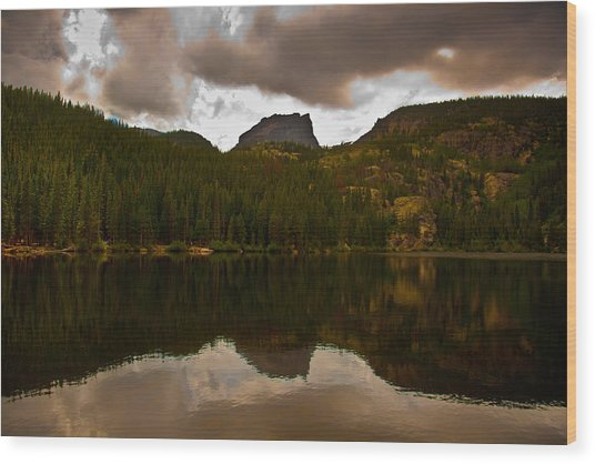 Rocky Mountain National Park Wood Print by Patrick  Flynn