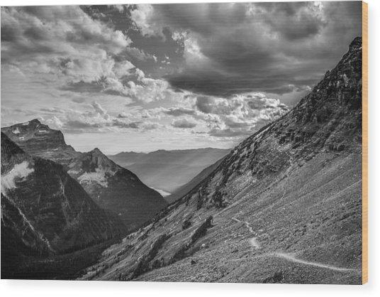 Rocky Mountain Splendor Wood Print