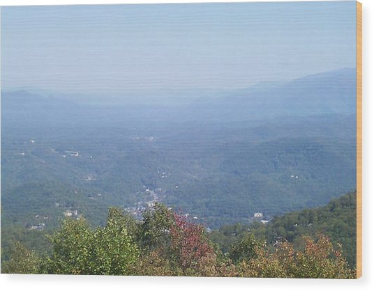 Rocky Top Tennessee 2 Wood Print by Paula Ferguson