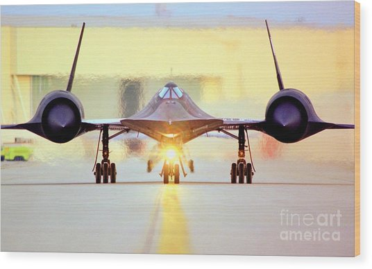 Roger That - Sr71 Jet Wood Print