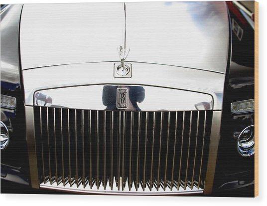 Rolls Royce 2 Wood Print by Jez C Self