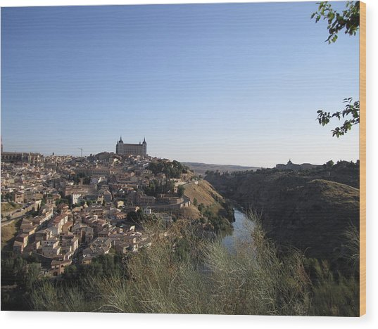 Romantic Toledo Wood Print