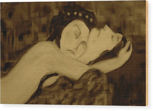 Romeo And Juliet Wood Print