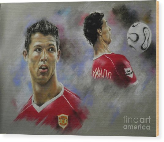 Ronaldo Wood Print