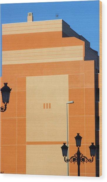 Roquettas 75 Wood Print by Jez C Self