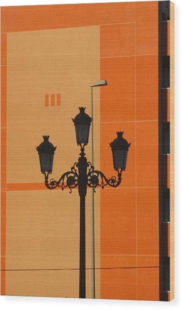 Roquettas 76 Wood Print by Jez C Self