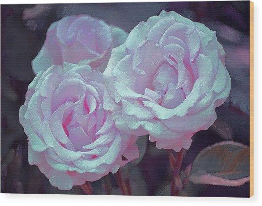 Rose 118 Wood Print