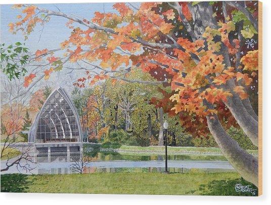 Rose Hulman Terre Haute Indiana Wood Print