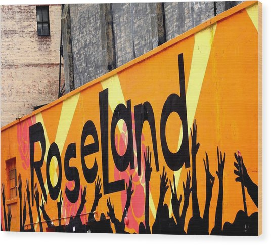 Roseland Ballroom In Nyc Wood Print