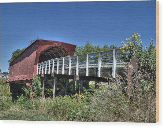 Roseman Bridge No. 5 Wood Print